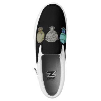 3 Little Monsters Slip-On Sneakers