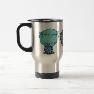 3 Little Monsters Travel Mug