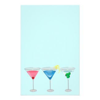 3 Martinis Stationery