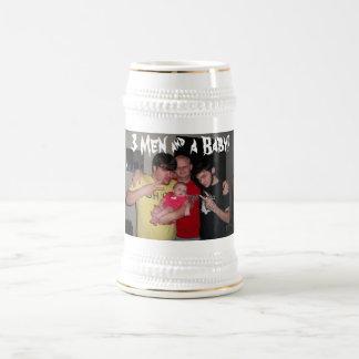 3 Men & a Baby! 18 Oz Beer Stein