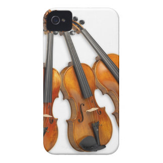 3 MUSICAL VIOLINS iPhone 4 Case-Mate CASE