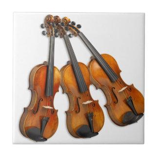 3 MUSICAL VIOLINS TILE