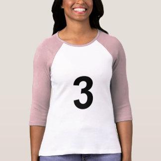 3 - number three T-Shirt