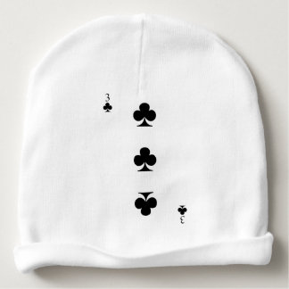 3 of Clubs Baby Beanie