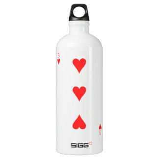 3 of Hearts Water Bottle