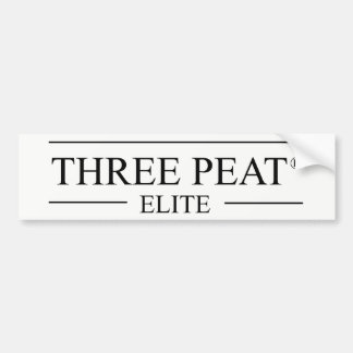 3-Peat Elite Bumper Sticker