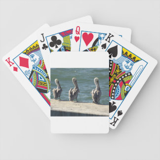 3 Pelicans Bicycle Playing Cards
