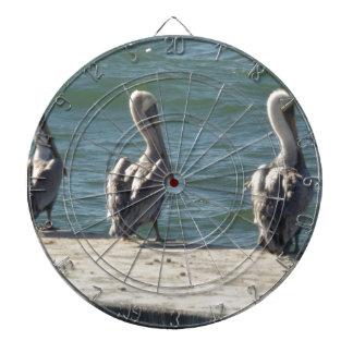 3 Pelicans Dartboard