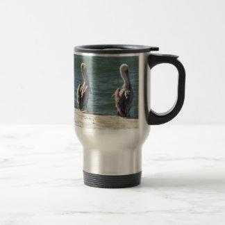 3 Pelicans Travel Mug