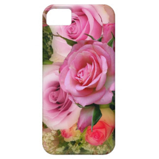 3 Pink Roses Case For The iPhone 5