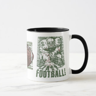 3 Point Stance Football Gear by Mudge Studios Mug