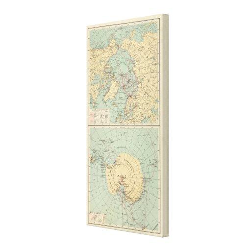 3 Polar Lands Canvas Print