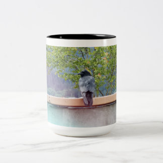 3 Ravens Two-Tone Coffee Mug