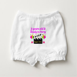 3 RD OLD MOVIE STAR DIAPER COVER