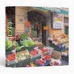 3 Ring Binder--Food Market Binder