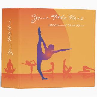 3 Ring Binder Template Yoga