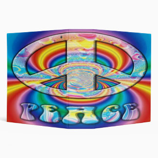 3 Ring Peace Sign Binder