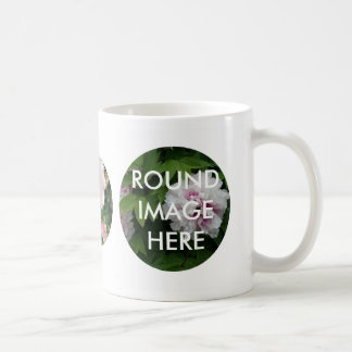 3 Round Images Custom Mug (Make your own Mug)