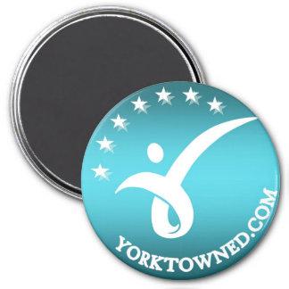 """3"""" Round Magnet - Yorktown Education"""