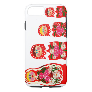 3 Russian Dolls BABUSHKA iPhone 8/7 Case