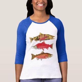3 Salmon Shirt