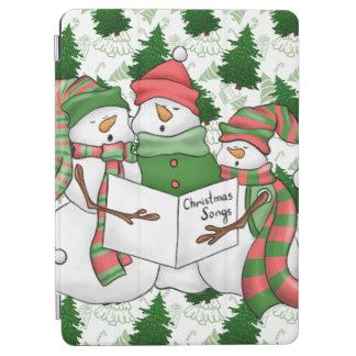 3 Snowman Carolers iPad Air Cover