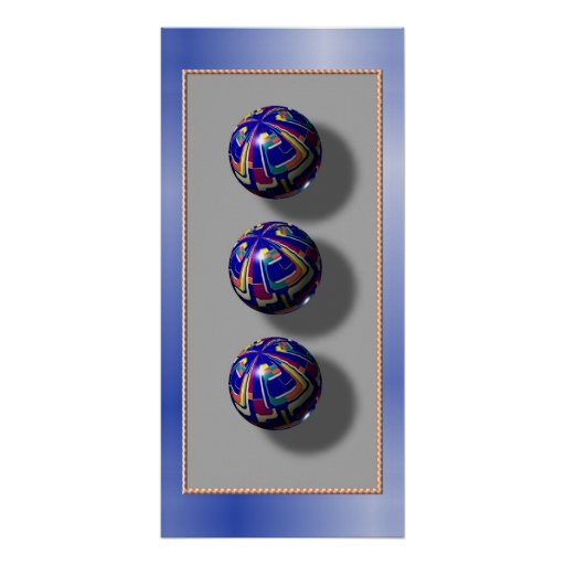 3 Spheres Poster
