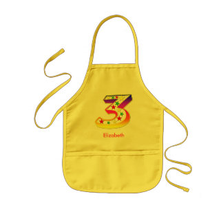 3 Star for Kids Kids Apron