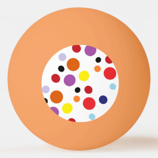 3-star spotty ping pong ball by DAL
