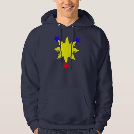 3 stars and a sun hoodie