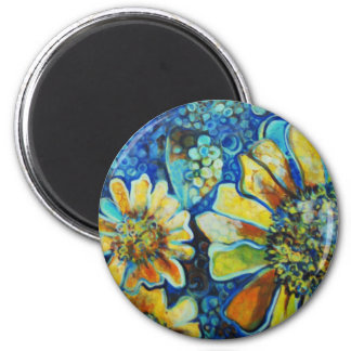 3 Sunflowers Magnet