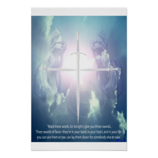 3 sword prophecy poster