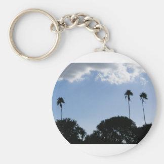 3 Tall Palms Key Chain