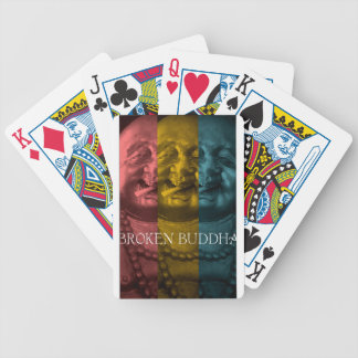 3 times the  broken buddha bicycle playing cards