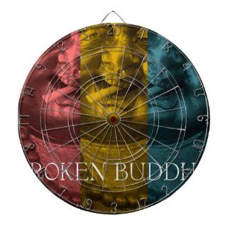 3 times the  broken buddha dartboard