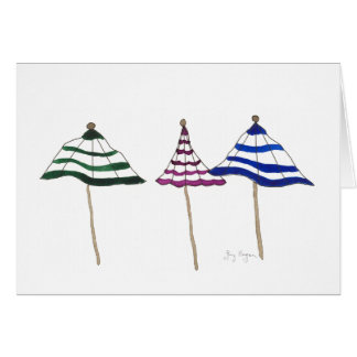 3 Umbrellas Cards