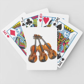 3 VIOLINS BICYCLE PLAYING CARDS