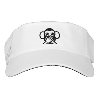 3 Wise Monkeys Iwazaru 言わざる Speak NO Evil Emoji Visor