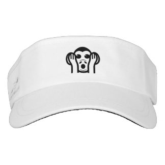 3 Wise Monkeys Kikazaru 聞かざる Hear NO Evil Emoji Visor