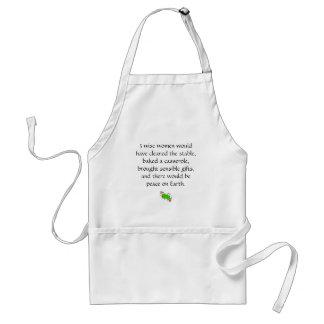 3 wise women standard apron