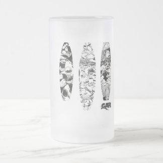 3 Woodcuts Coffee Mugs