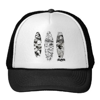 3 Woodcuts Trucker Hat
