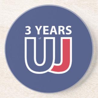 3 Years Of Union J ack Coaster