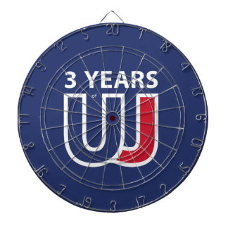 3 Years Of Union J ack Dartboards
