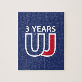 3 Years Of Union J ack Jigsaw Puzzle