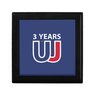 3 Years Of Union J ack Keepsake Boxes