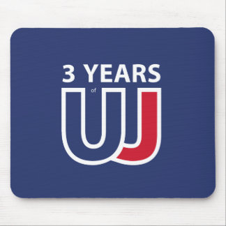 3 Years Of Union J ack Mouse Pad