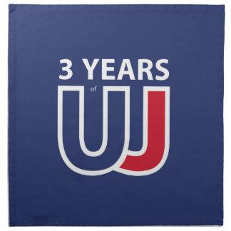 3 Years Of Union J ack Napkin