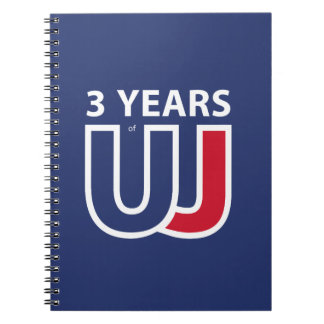 3 Years Of Union J ack Notebooks