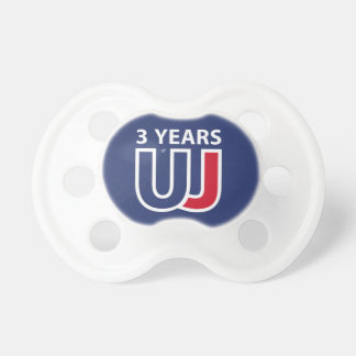 3 Years Of Union J ack Pacifier